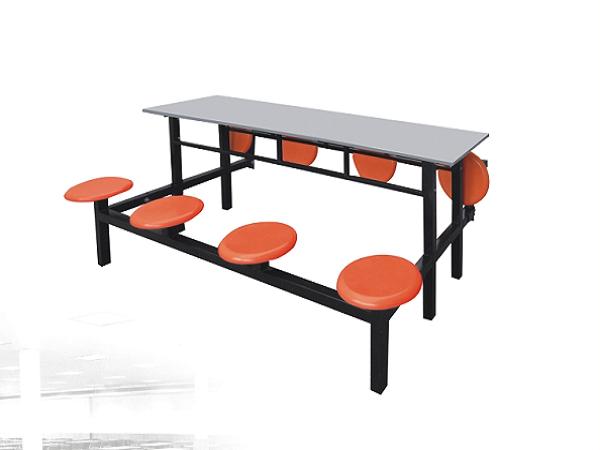 八人不锈钢餐桌