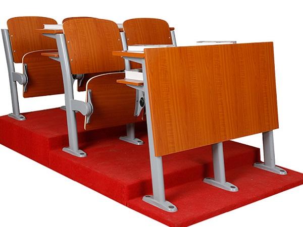 阶梯教室连体桌