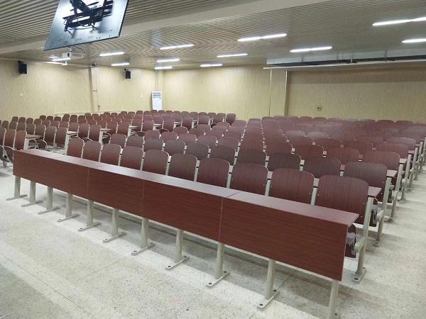 陕西模拟法庭现场连排椅案例