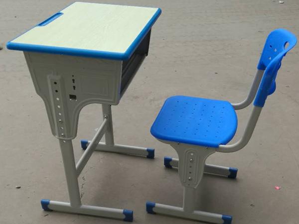 单人pp椅升降课桌椅