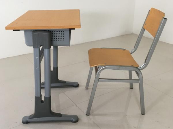 单人清华款课桌椅